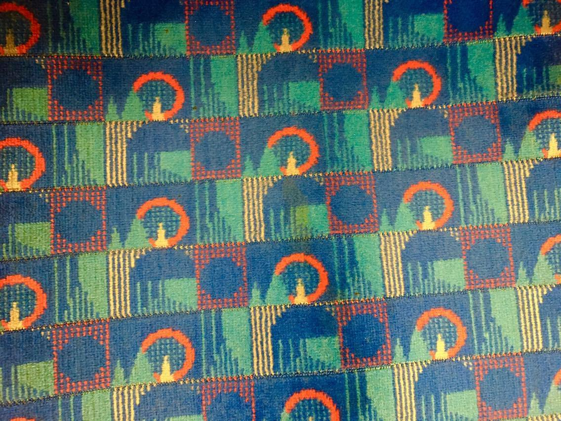 Piccadilly Line seat cover