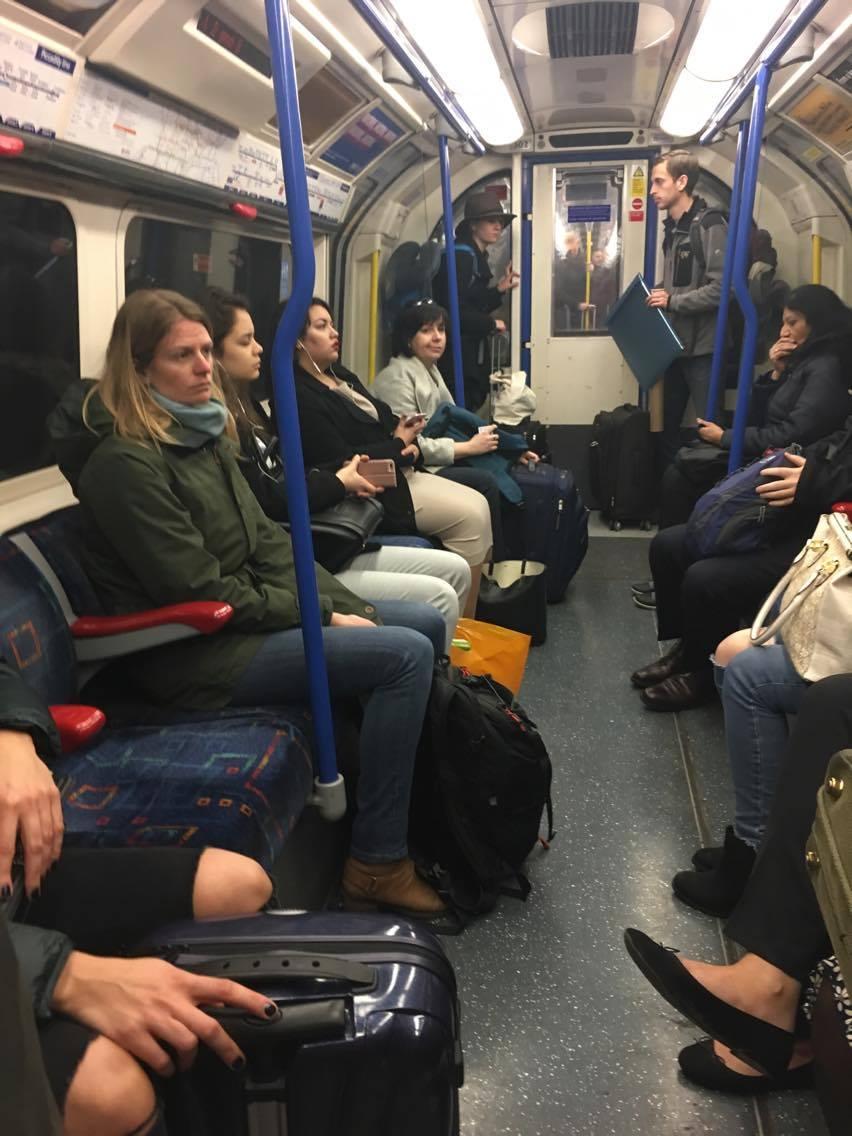 London Underground carriage